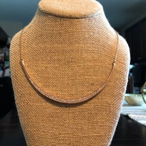 Chloe and Isabel Rose Gold Sculpted Necklace